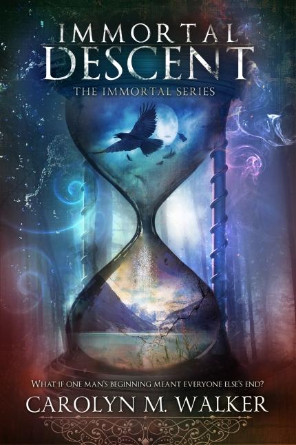 Carolyn M Walker Immortal Descent Cover Reveal
